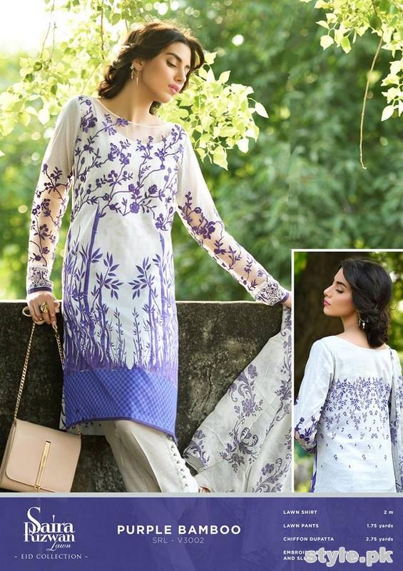Saira Rizwan Eid Dresses 2015 For Girls 1