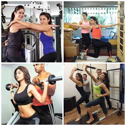 Unseen Pictures Of Bollywood Celebrities In Gym