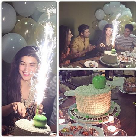 See Urwa hocane's birthday celebration