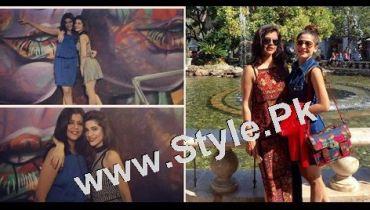 See Besties Maria Wasti and Ayesha Omar Chilling in LA