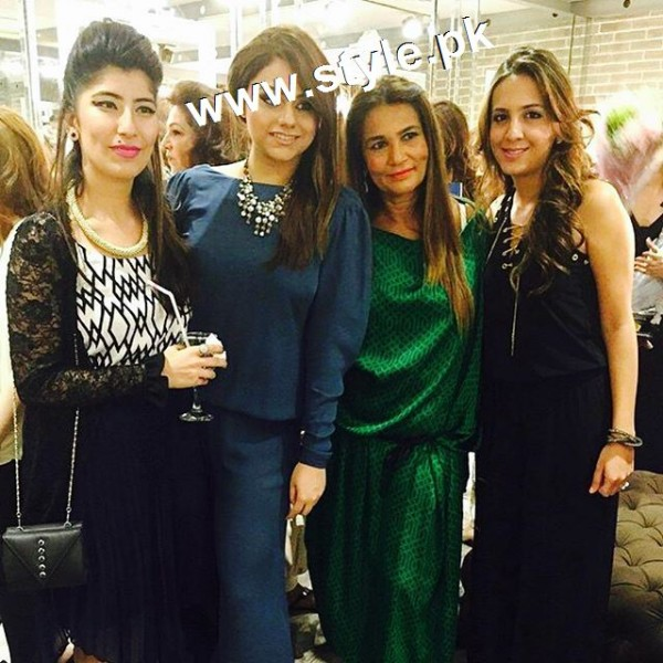 Celebrities at the launch of Meher's Salon (3)