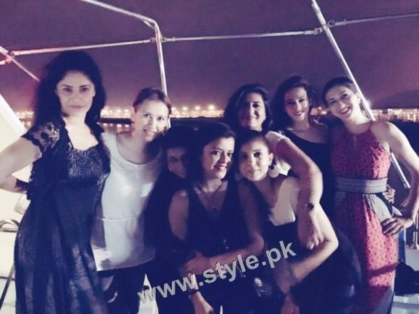 Maria Wasti's surprise birthday party
