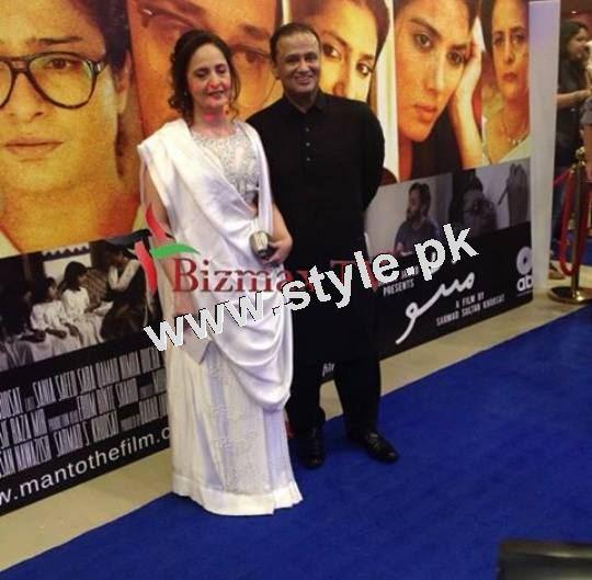 Pakistani Celebrities on the red carpet of MANTO