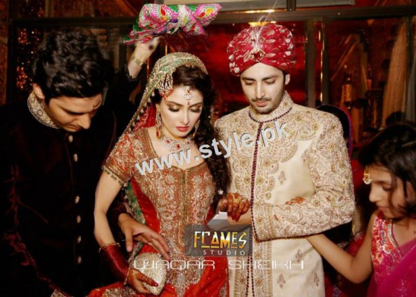 Wedding Pictures of Famous Pakistani Celebrities 23