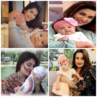 Which Pakistani Actresses Become Mothers Of Little Angles