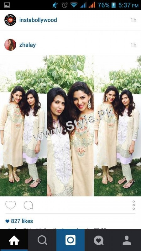 Pakistani Celebrities on Eid ul Adha 2015 (4)