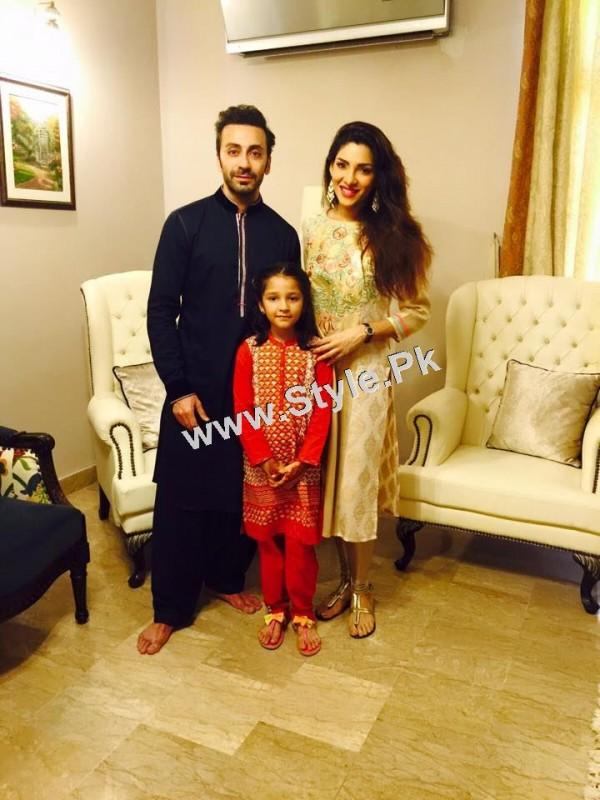 Pakistani Celebrities on Eid ul Adha 2015 (5)