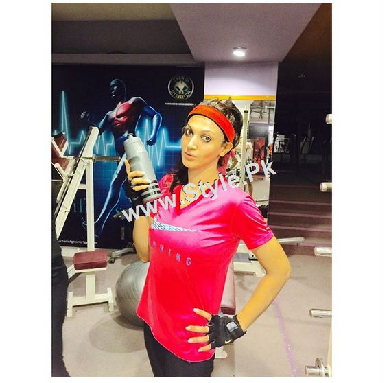 See Pakistani Celebrities who are fitness conscious