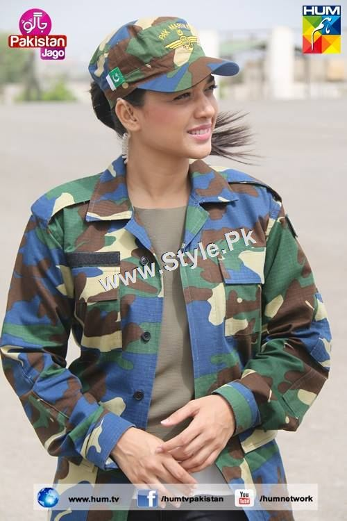 Sanam Jung's look for Defence Day 2015 (19)