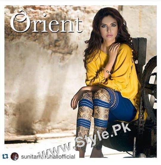 Sunita Marshal's photoshoot for Orient Textile Mills (2)