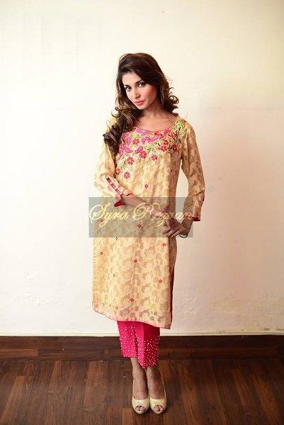 Vibgyor By Syra Rezvan Eid ul Azha Collection 2015 For Women