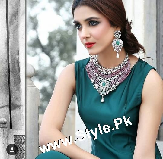 Elegant Photoshoot of Maya Ali for Samreen Vance House of Jewels (7)