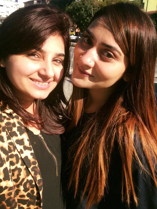 Pictures of Javeria Saud on Istanbul Tour (4)