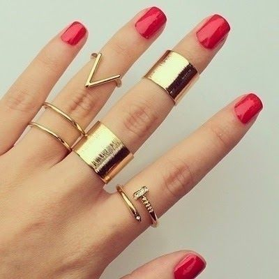 Artifical Cuff Rings For Girls 2016 in Pakistan-new