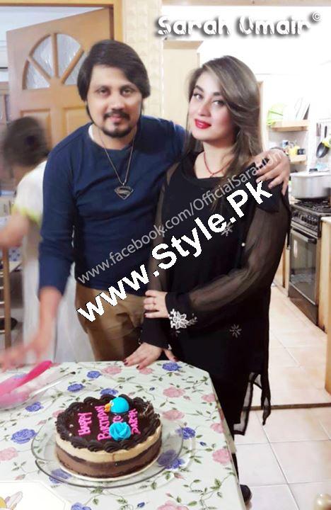Birthday Celebrations of Actress Sarah Umair (4)