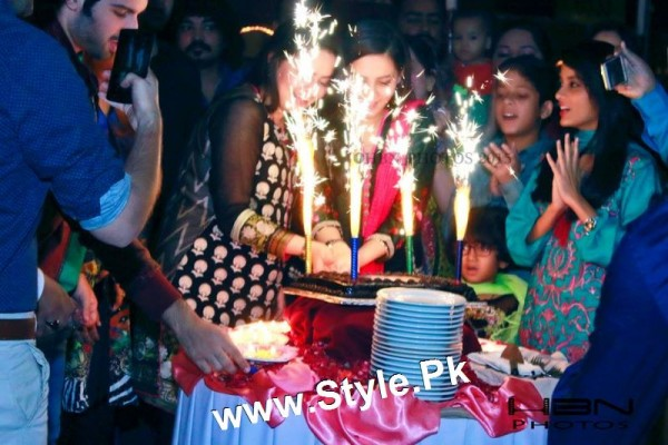 Birthday Celebrations Of Twins Celebrities Aiman Khan And