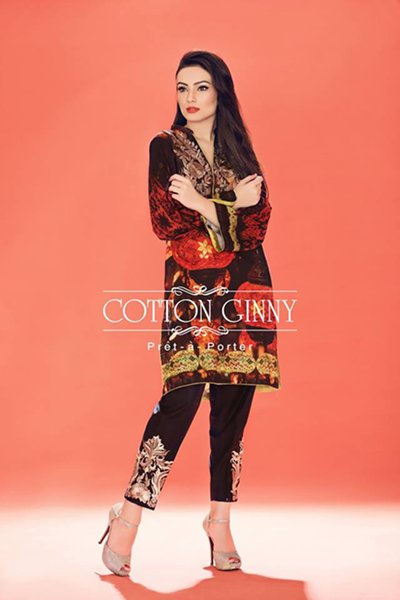 Cotton Ginny Winter Collection 2015 For Women007