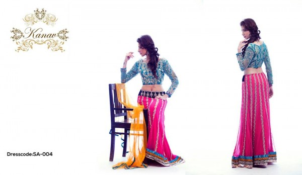 Kanav Party Wear Collection 2015 For Women