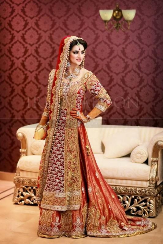 Latest Bridal Dresses shinning