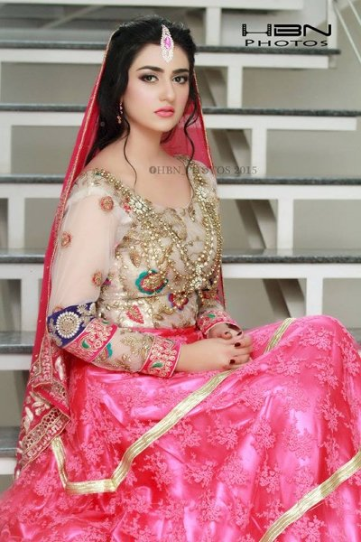 Latest Bridal Photoshoot Of Sarah Khan