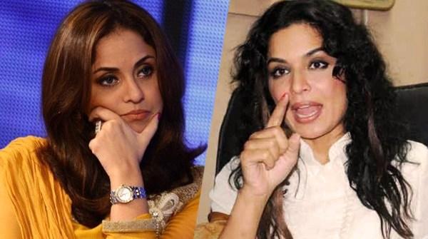Nadia Khan and meera