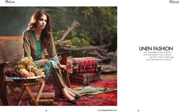 Orient Textiles Linen Collection 2015 For Women0018