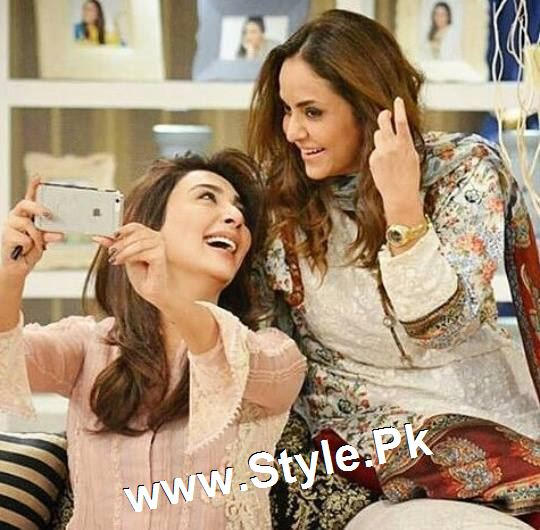 Some precious moments from Nadia Khan Show (3)