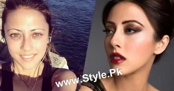Top 13 Pakistani Celebrities with and without Makeup (12)