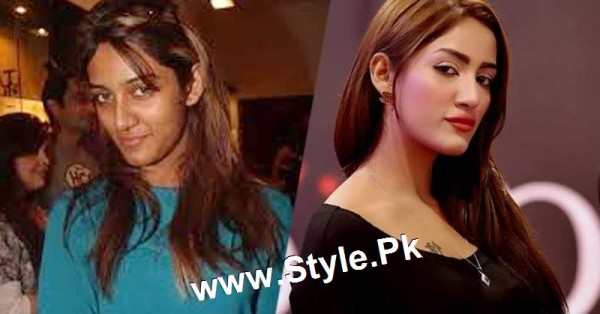 Top 13 Pakistani Celebrities with and without Makeup (2)