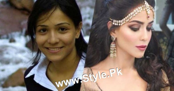 Top 13 Pakistani Celebrities with and without Makeup (6)
