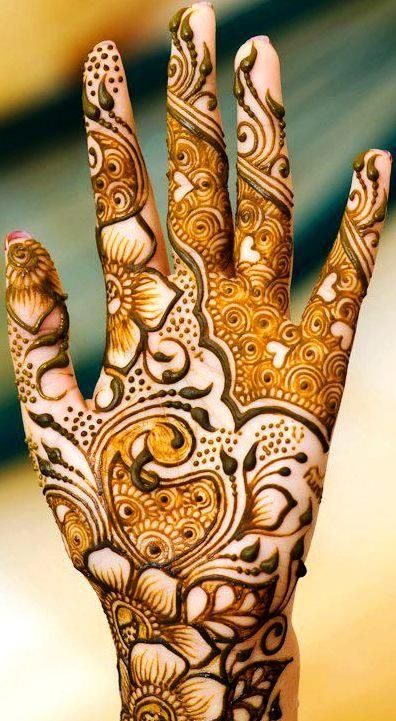 arabic mehndi designs 2016- shading