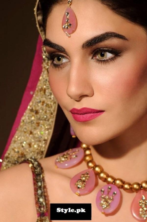 bridal makeup photoshoot