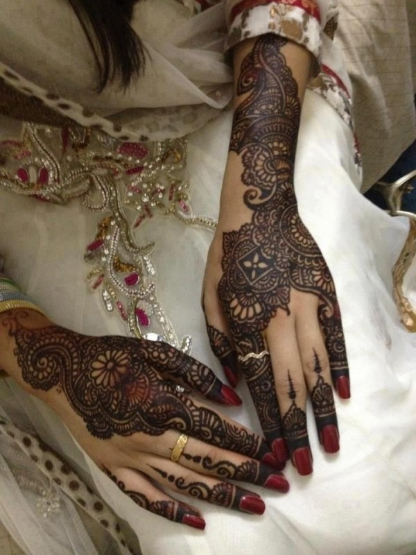 bridal mehndi design 2016