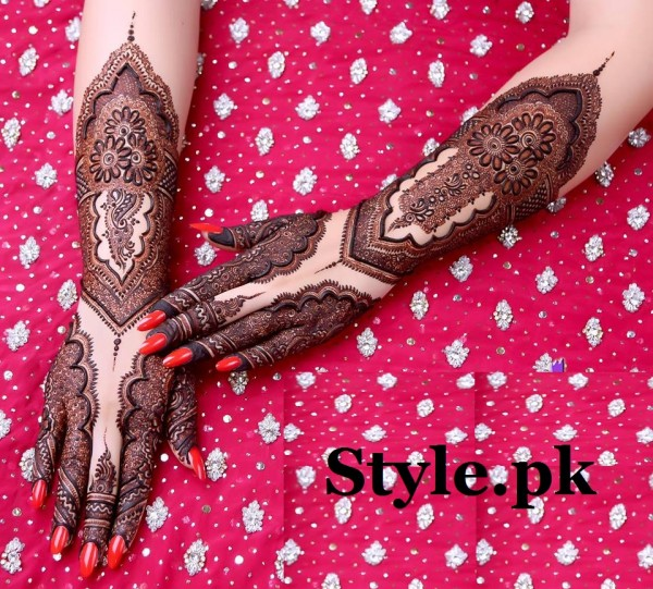 bridal mehndi designs 2016
