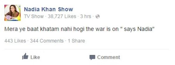 meera nadia khan show