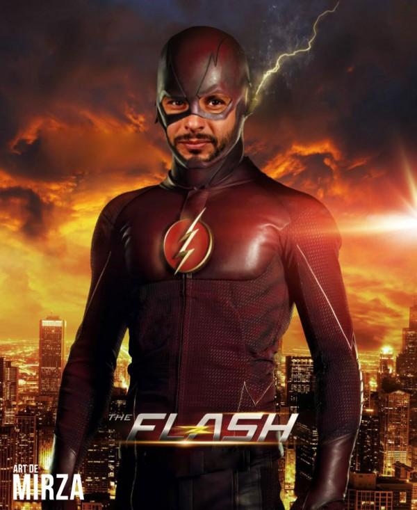 shahid afridi flash man