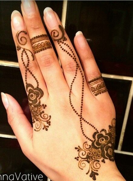 stylish mehndi design 2016
