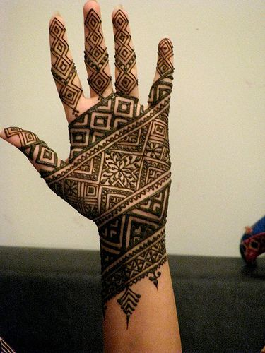stylish mehndi design for 2016