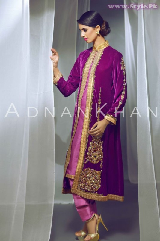 Adnan Khan Formal Dresses For Ladies 2015-16