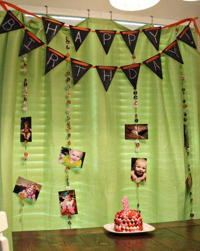 Birthday Decoration Ideas 2016 -theme