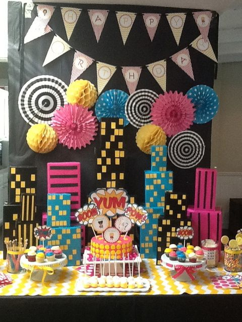 Birthday Decoration Ideas 2016 -with black