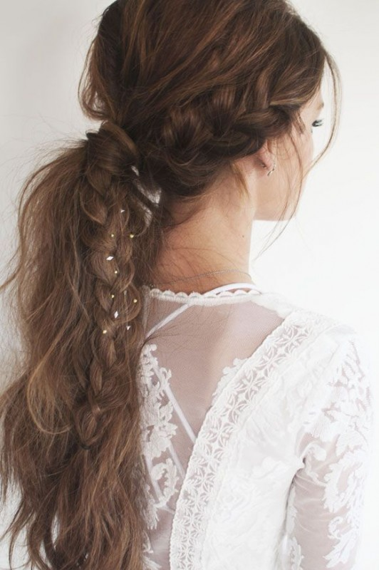 Braided Hairstyles 2016 for Girls -messy