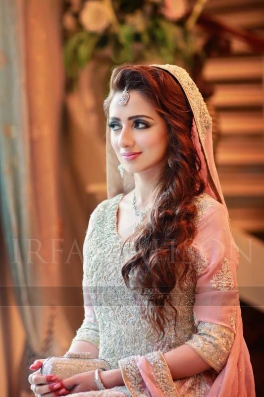 Bridal Hairstyles -valimalook