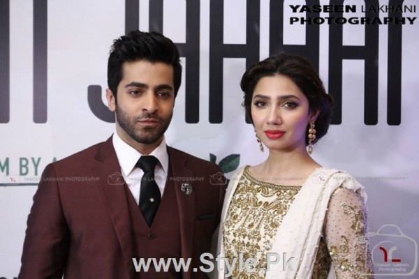Celebrities at the Karachi Premiere of Ho Mann Jahan (2)