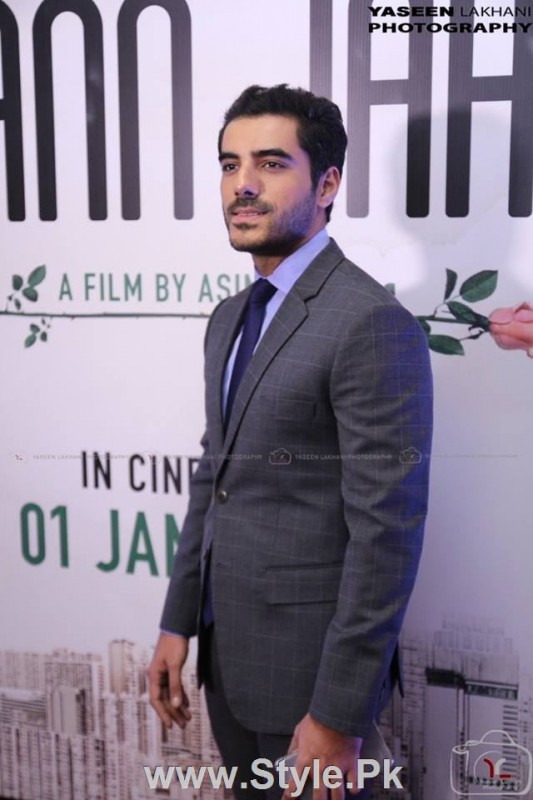 Celebrities at the Karachi Premiere of Ho Mann Jahan (5)