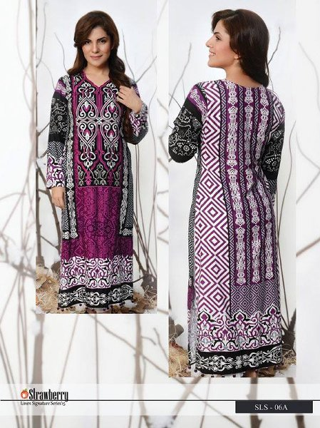Feel Strawberry Linen collection 2015 For Women005