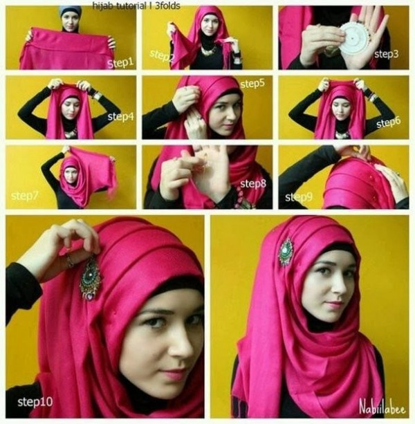 Formal Hijab Styles 2016-titorial