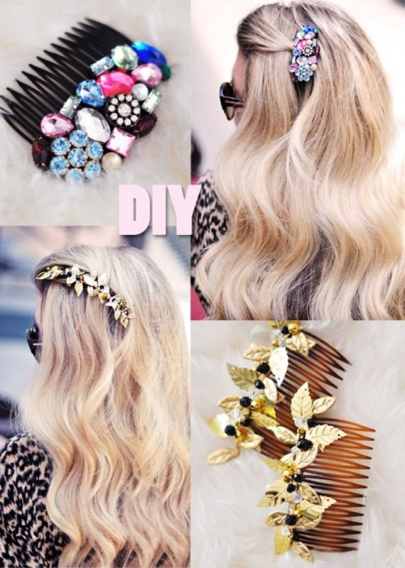 Hair Accessories 2016 for girls-comb