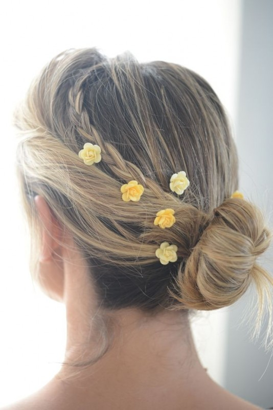 Hair Accessories 2016 for girls-flowers