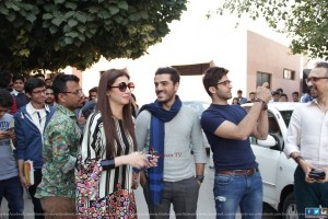 Ho Mann Jahaan cast at IOBM University